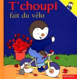 Couverture du livre : T'choupi fait du vélo