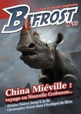 Couverture du livre : Bifrost 53, spécial China Miéville
