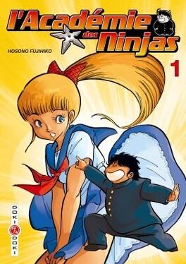 Couverture du livre : L'Académie des ninjas Volume 1