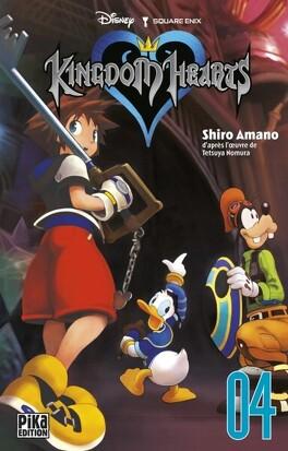 Couverture du livre : Kingdom Hearts, Tome 4