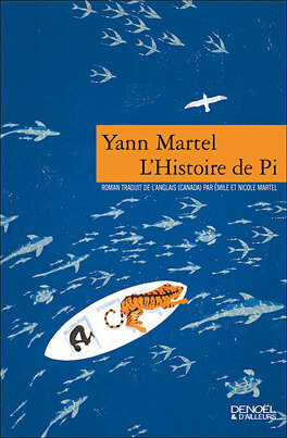 Couverture du livre : L'Histoire de Pi