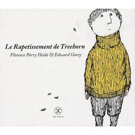 Couverture du livre : Le Rapetissement de Treehorn