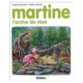 Couverture du livre : Martine, L'arche de Noé