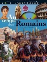 Couverture du livre : Au temps des Romains