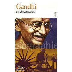 Couverture du livre : Gandhi