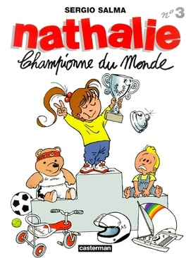 Couverture du livre : Nathalie, Tome 3 : Championne du monde