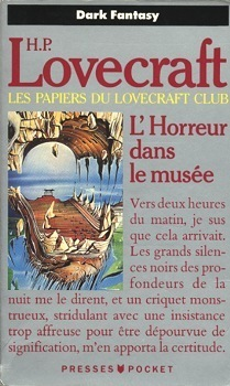 Couverture du livre : L'Horreur dans le musée