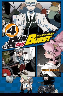 Couverture du livre : Run day Burst, Tome 4
