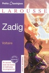 couverture Zadig ou la Destinée