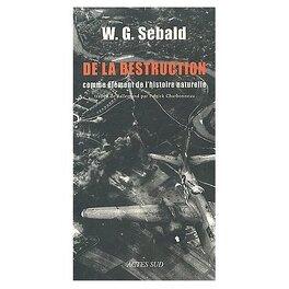 Couverture du livre : De la destruction,comme élément de l'histoooire naturelle