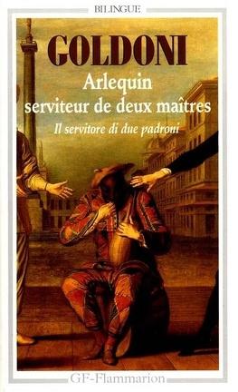 Couverture du livre : Arlequin serviteur de deux maîtres