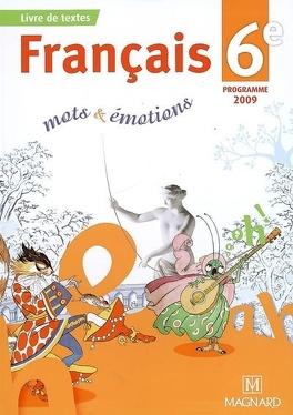 Francais 6e Mots Emotions Livre De Evelyne Ballanfat