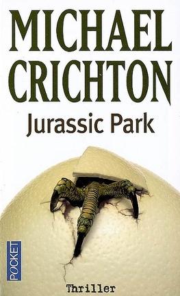 Couverture du livre : Le Parc Jurassique, Tome 1 : Jurassic park