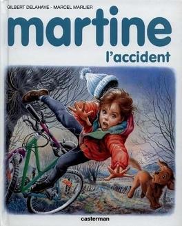 Couverture du livre : Martine, l'accident
