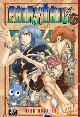 Couverture du livre : Fairy Tail, Tome 27