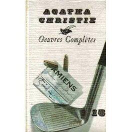 Couverture du livre : Douze nouvelles / Les travaux d'Hercule / Poirot résoud trois énigmes - Tome 15
