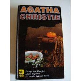 Couverture du livre : Passager pour Francfort / La fête du potiron / Les enquêtes d'Hercule Poirot  - Tome 19