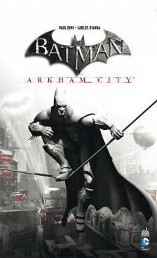 Couverture de Batman Arkham City
