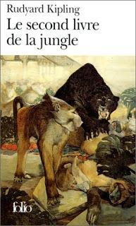 Couverture du livre : Le Second Livre de la jungle