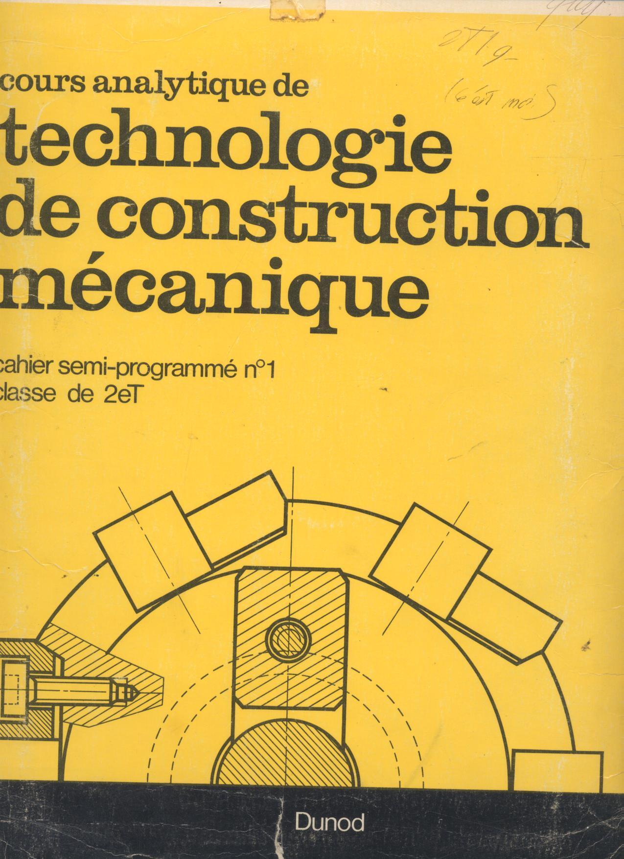 En commun Couvertures, images et illustrations de Cours analytiquede #IN_28