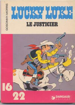 Couverture du livre : Lucky luke, le justicier