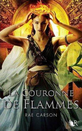 Couverture du livre : La Trilogie de braises et de ronces, Tome 2 : La Couronne de flammes