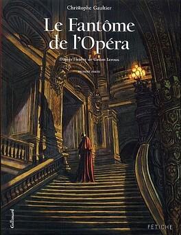 Couverture du livre : Le Fantôme de l'Opéra