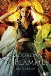 couverture La Trilogie de braises et de ronces, Tome 2 : La Couronne de flammes