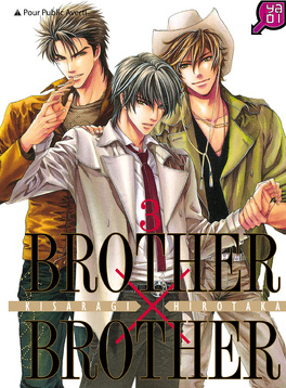 Couverture du livre : Brother X Brother, Tome 3