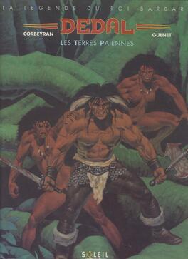 Couverture du livre : Dedal, Les terres barbares
