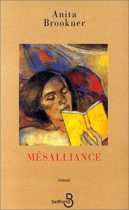 Couverture du livre : Mésalliance