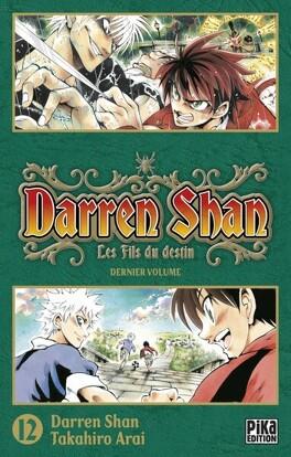 Couverture du livre : Darren Shan, Tome 12 : Les Fils de Destin (manga)