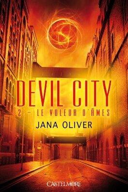 Couverture du livre : Devil City, Tome 2 : Le Voleur d'Âmes