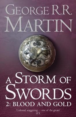 Couverture du livre : A Storm of Swords, Tome 2 : Blood and gold