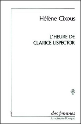 Couverture du livre : L'Heure de Clarisse Lispector
