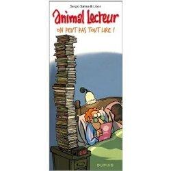 Couverture de  Animal lecteur, Tome 3 : On peut pas tout lire !