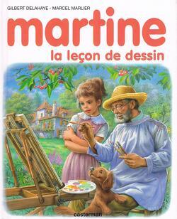 Couverture de Martine La leçon de dessin