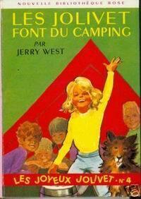 Couverture du livre : Les Jolivet font du camping