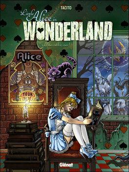 Couverture du livre : Little Alice in Wonderland, tome 1 : Run, rabbit, run !