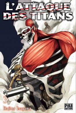 Couverture du livre : L'Attaque des Titans, Tome 3