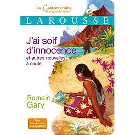Couverture du livre : J'ai soif d'innocence
