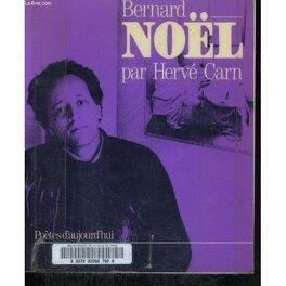 Couverture du livre : Bernard Noël