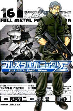 Couverture de Full Metal Panic Σ (Sigma), Tome 16