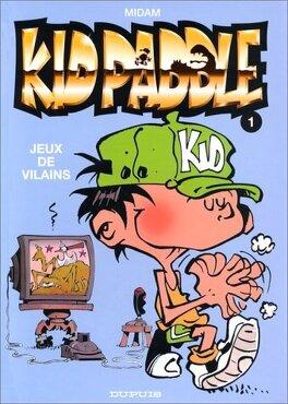 Couverture du livre : Kid Paddle, Tome 1 : Jeux de vilains