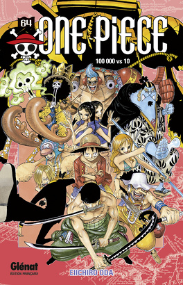 Couverture du livre : One Piece, Tome 64 : 100 000 vs 10