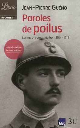 Couverture du livre : Paroles de poilus