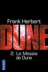 couverture Le Cycle de Dune, Tome 2 : Le Messie de Dune