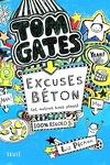 couverture Tom Gates, tome 2 : Excuses béton (et autres bons plans)