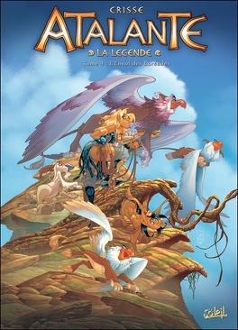 Couverture du livre : Atalante - La Légende, Tome 4 : L'Envol des Boréades