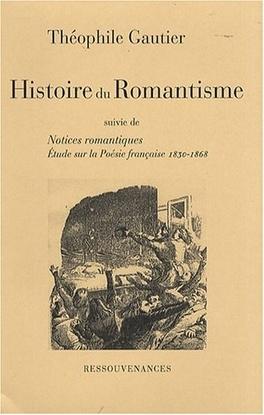 Couverture du livre : Histoire du romantisme